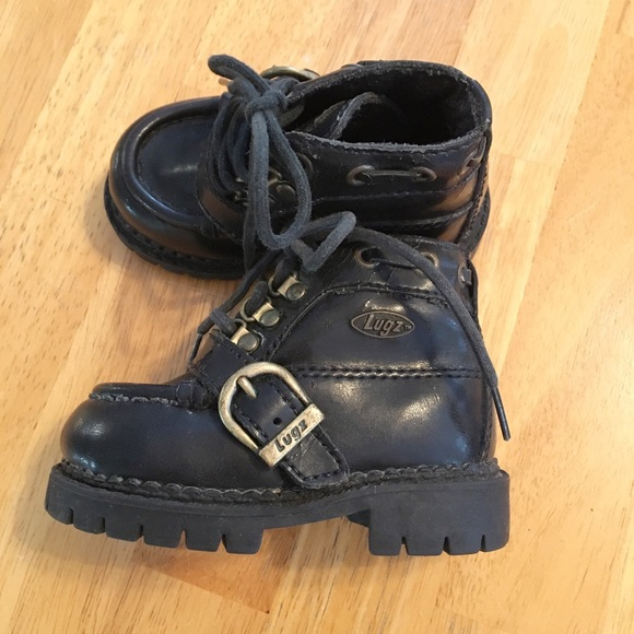 Lugz Other - Lugz Kids Black Buckled Boots Size 3